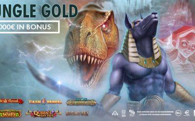 JUNGLE GOLD 2.000€ in palio!