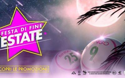 BINGO: Festa di fine Estate 2021!